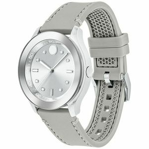 New Movado Ladies Bold Silver Dial Watch 3600412 G